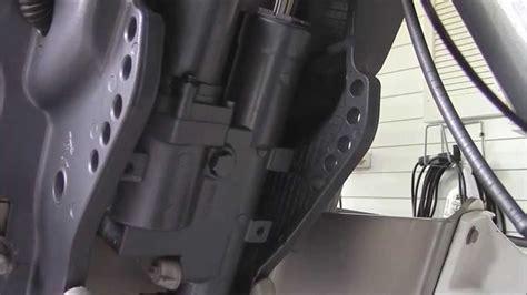 buitenboordmotor kantelen yamaha trim tilt trouble shooting fix youtube