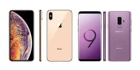 frente a frente el iphone xs max vs samsung galaxy s9 plus