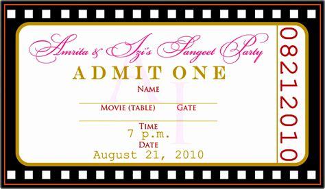 12 Concert Ticket Invitation Template Free Uottu Templatesz234 Free Birthday Invitation Templates