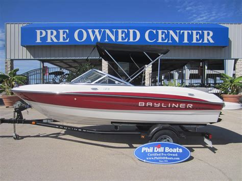 bayliner bowrider boats for sale used used bayliner 185 bowrider boats for sale 2 boats