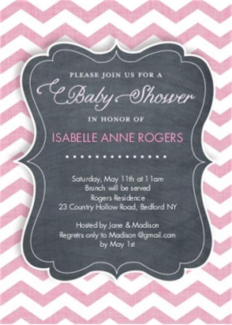 Snapfish Baby Shower Invitations by Baby Shower Snapfish Chevron Stripe Custom Printing