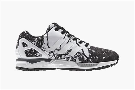 adidas zx flux trees pattern adidas originals zx flux quot trees quot highsnobiety