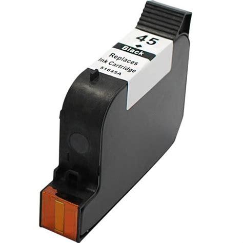 Tinta Hp 45 Black Original 51645a hp 51645a hp 45 ink cartridge black remanufactured
