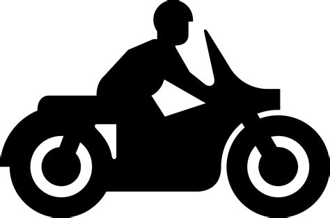 Clipart Motorrad by Motorcycle Riding Clipart Clipart Panda Free Clipart