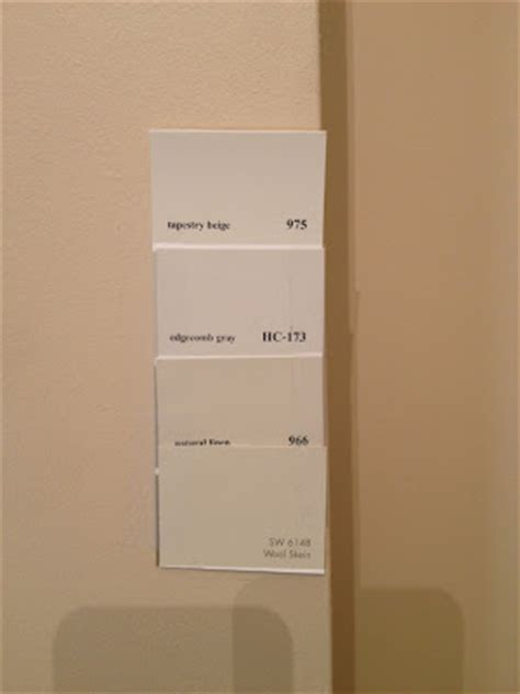 married to picking the paint color for wood trim