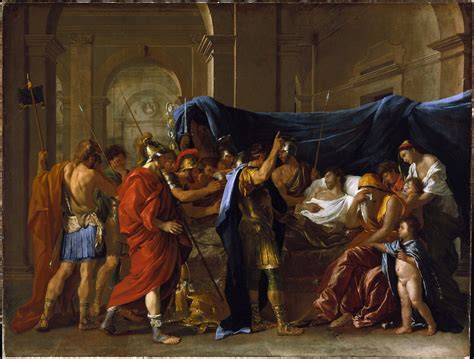 morte in fichier nicolas poussin la mort de germanicus jpg