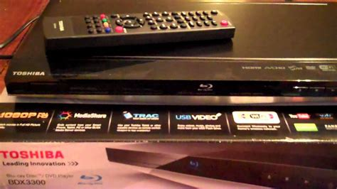 toshiba bdx  bluray dvd player reviewmp youtube