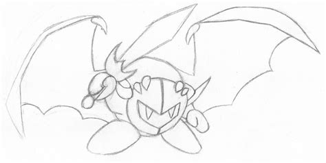 meta knight coloring pages