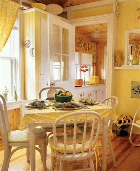 Yellow Dining Room Curtains Ideas Yellow Room A Yellow Room So Cheery And And Easy To Accessorize Dining