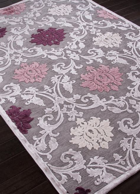 Grey And Purple Area Rug Fables Pink Purple Floral Area Rug