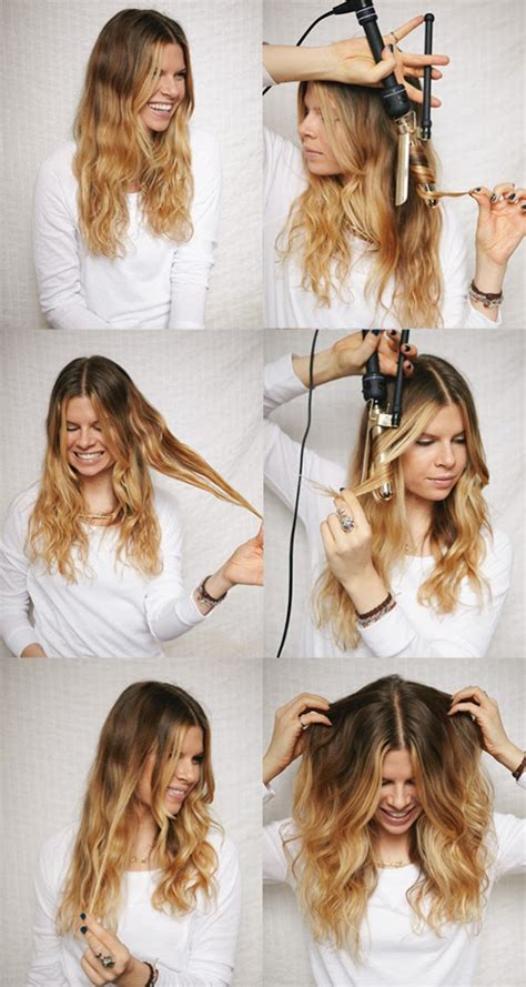 hairstyles how to do wavy hair the best hair tutorials for curly hairstyles fashionsy com