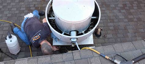 Kitchen Exhaust Fan Cleaning Tips Omni Grease Gutter Rooftop Grease Containment System
