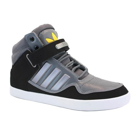 adidas adirise   mens laced leather high top