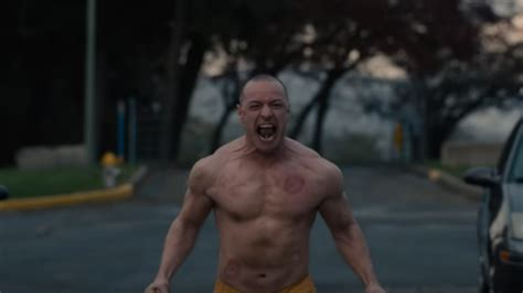 james mcavoy films 2018 james mcavoy is crazy ripped in the first glass trailer
