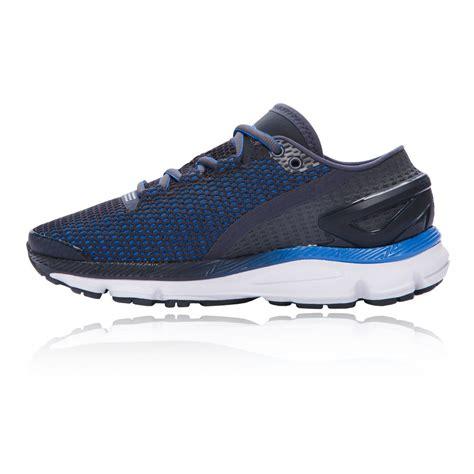 womens cushioned running shoes armour speedform gemini 2 1 womens blue cushioned