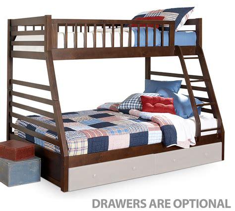 cherry bunk beds starship bunk bed set chocolate cherry leon s