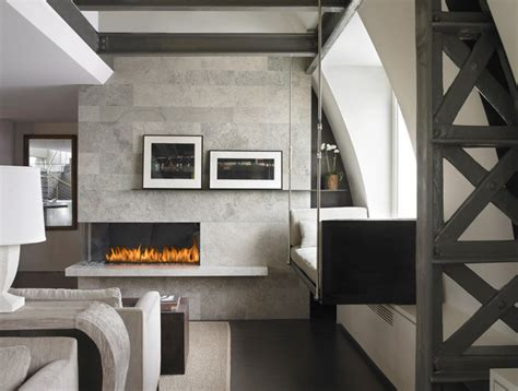 corner left custom fireplace c420 modern living room vancouver by montigo fireplaces