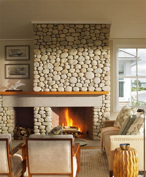 stone wall fireplace 34 beautiful stone fireplaces that rock