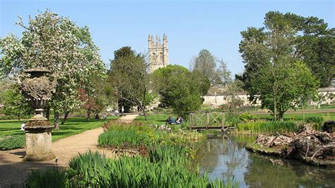 Botanical Garden Oxford Friday Is For Theme My Favorite City Oxford Swimming The Depths