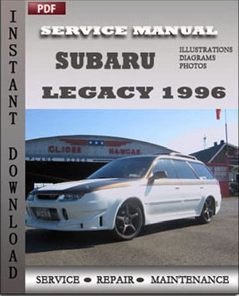old car repair manuals 1996 subaru legacy interior lighting subaru legacy 1996 service maintenance manual servicerepairmanualdownload com