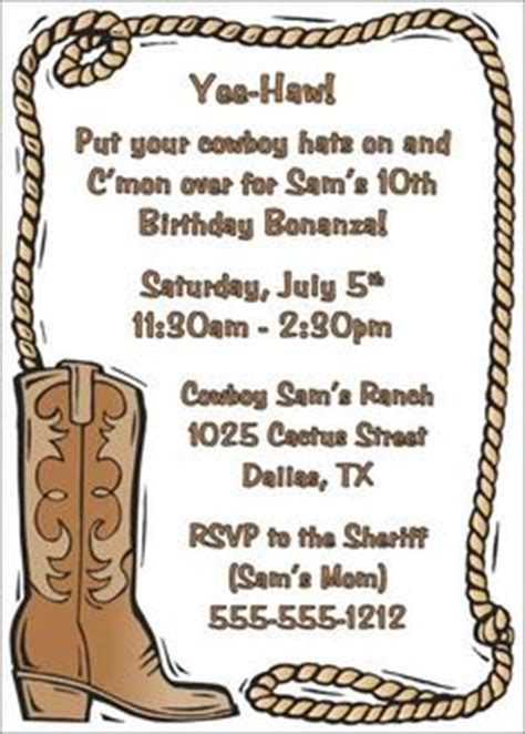 West Invites Clipart Clipground West Invitation Template