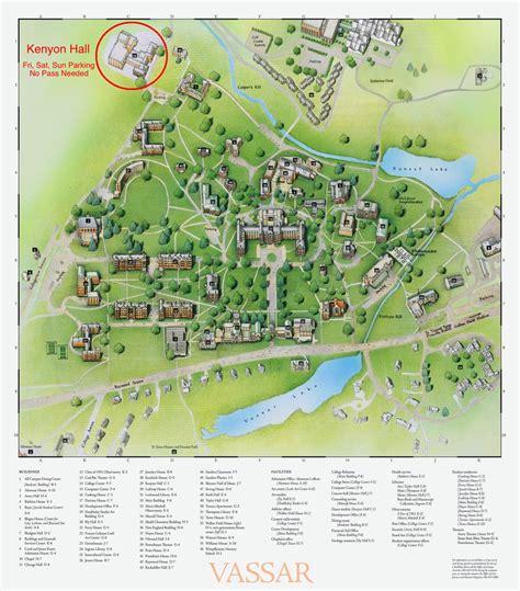 map of american cus vassar college map vassar college review facts american