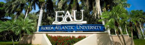 Florida Atlantic Mba Sports Management by Fau The At A Glance Http Www Fau Edu