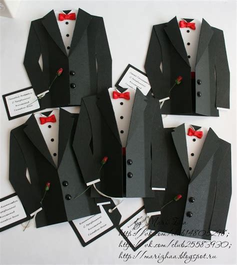 tuxedo template card diy tuxedo cards or invitations with template cricut
