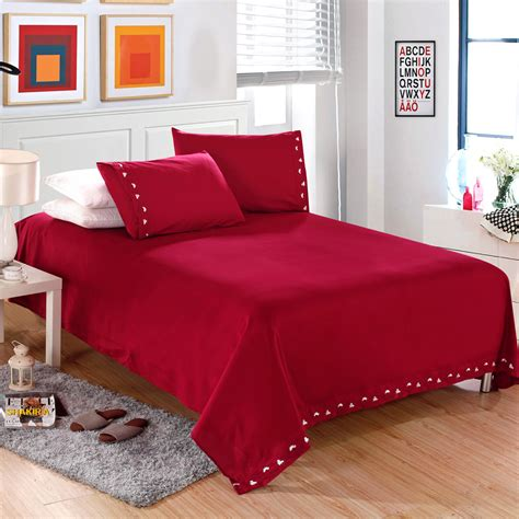 King Size Futon Cover by 2016 Usa Free Shipping Solid Bedding 4pcs Bedding Set