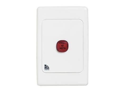 clipsal ml2031ve08 audible visual alarm 250vac 1 vertical white electric