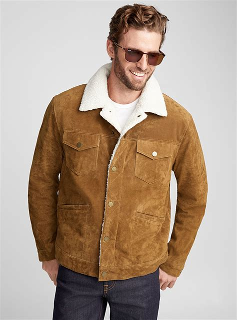 Jaket Suede Suede Jacket shop s leather suede jackets simons