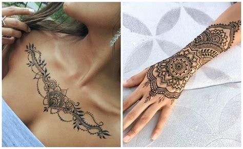 imagenes de tatuajes de henna para mujeres tatuajes de henna el arte de los tatuajes temporales