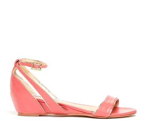coral colored sandals mini wedge sandal color coral salmon