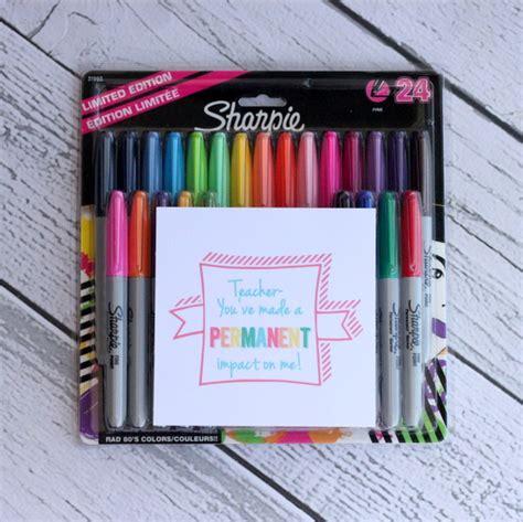 Free Sharpie Giveaway - printable teacher appreciation sharpie labels skip to my lou
