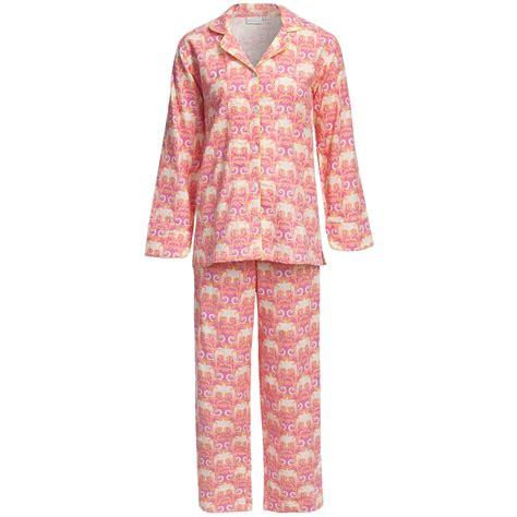 best cotton needham lane flannel pajamas cotton long sleeve for