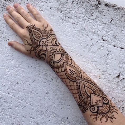 henna tattoo unterarm 1001 ideen wie sie ein henna selber machen