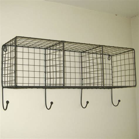 25 best ideas about wall shelf with hooks on
