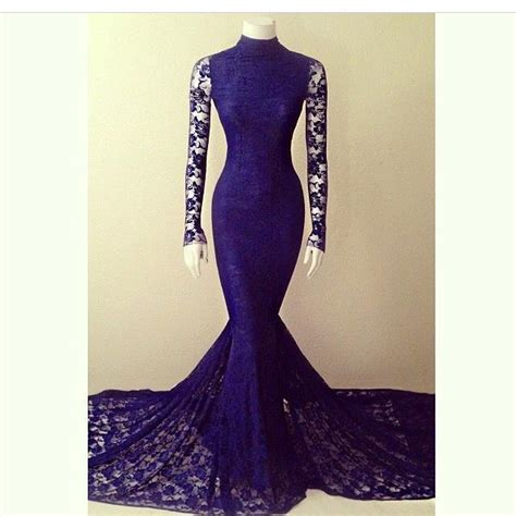 vintage 2016 navy blue lace 2016 mermaid vintage lace evening dresses sheer