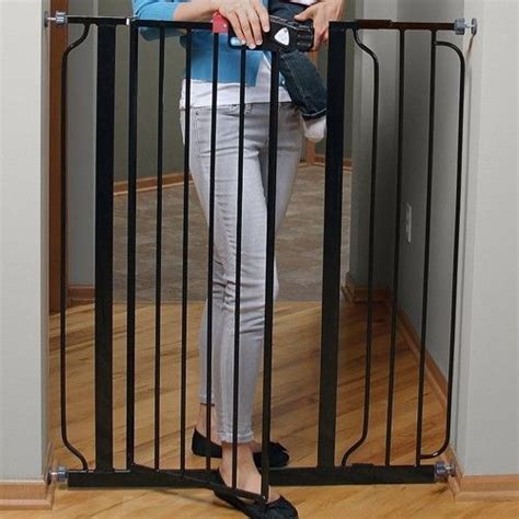 baby gate with swing door baby gates for stairs hardware mounted top with swing door