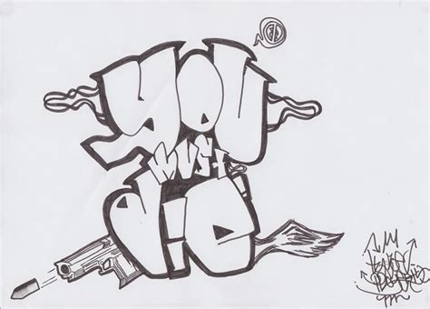 graffiti drawings 2018 z31 coloring page