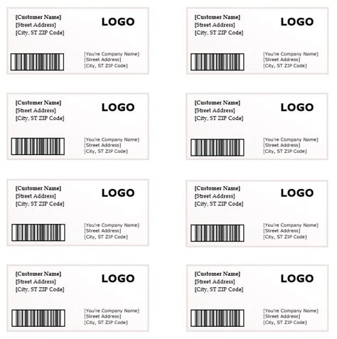 microsoft word label templates shipping label template microsoft word templates