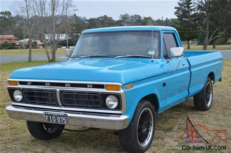 1976 Ford F100 by Ford F100 1976 Ute 3 Sp Automatic 4 1l Carb