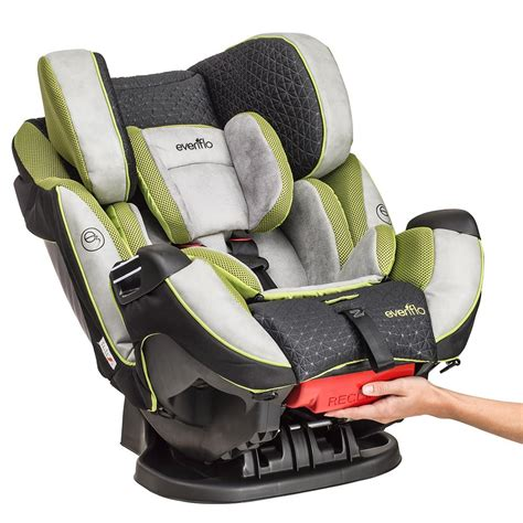 evenflo reclining car seat com evenflo symphony dlx all in one convertible