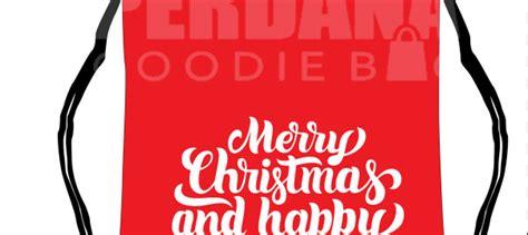 Tas Souvenir Natal Dan Tahun Baru Tote Bag tas natal anak tas kanvas tas blacu perdana goodiebag