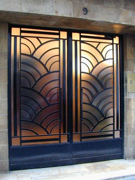 Art Deco Doors Art Deco Pinterest Doors Art Deco Deco Interior Doors