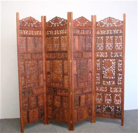 indian room divider 4 panel indian carved wooden screen room divider ebay
