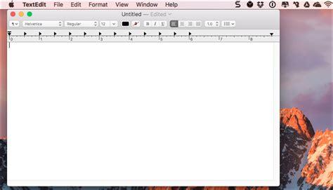Textedit Document
