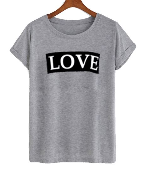 love the gray love gray t shirt