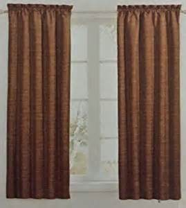 spice colored curtains sundown eclipse energy saving room darkening