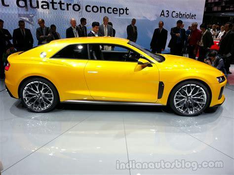 Audi Sport Quattro Concept by Audi Sport Quattro Concept Side